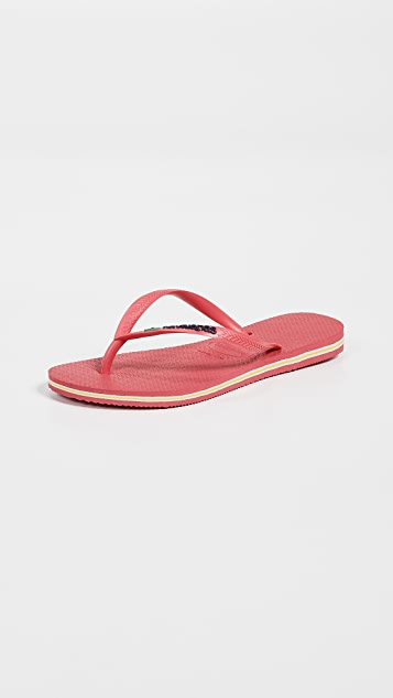 581cc4f5bc3c7 Havaianas Slim Brazil Flip Flops