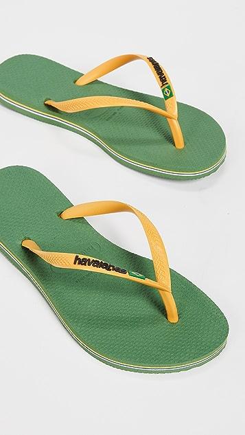 Havaianas Узкие вьетнамки Brazil