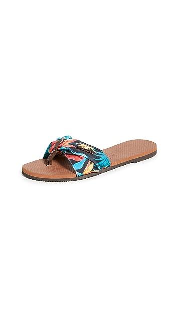 Havaianas You Saint Tropez 夹趾凉鞋