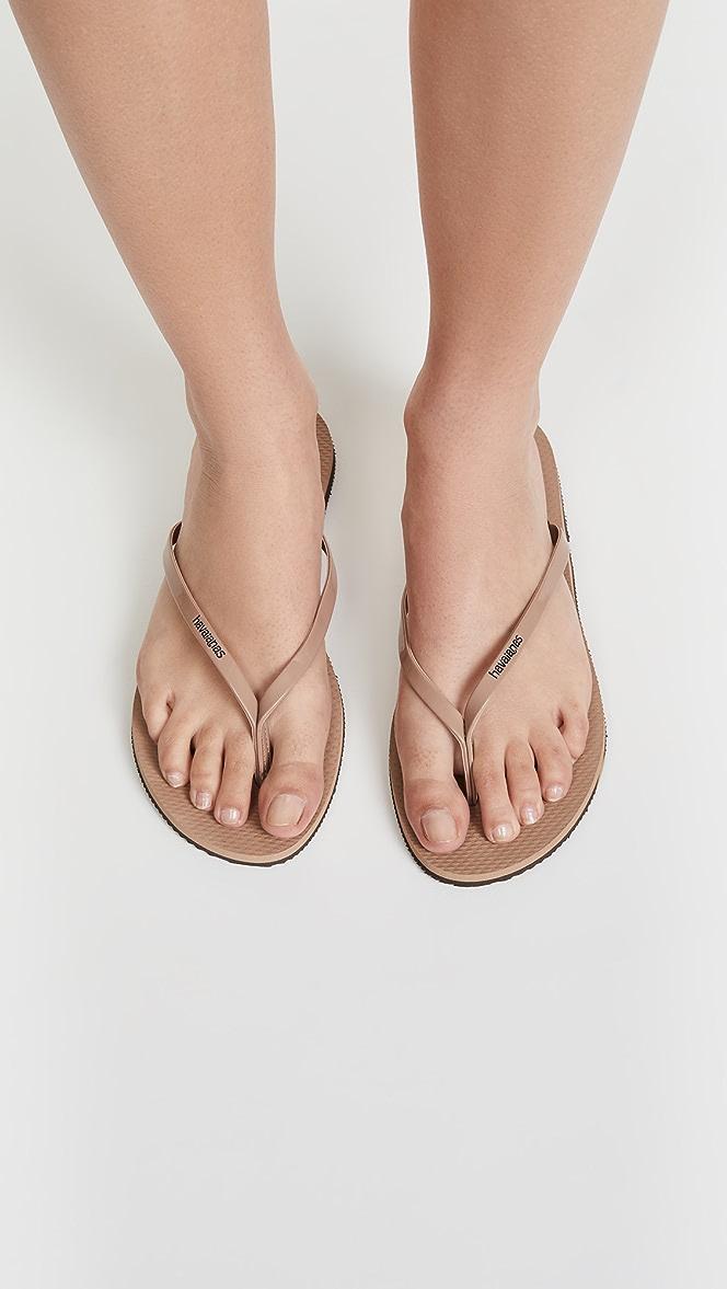 Havaianas You Metallic Flip Flops