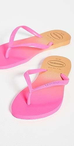 Havaianas - 渐变窄版夹趾凉鞋