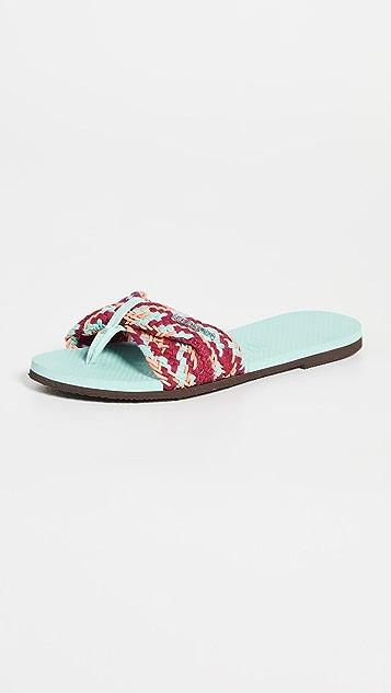 Havaianas You St. Tropez Mesh Slides