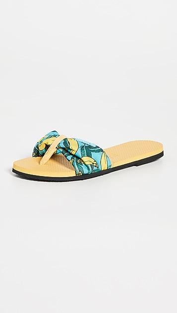 Havaianas You St. Tropez Slides