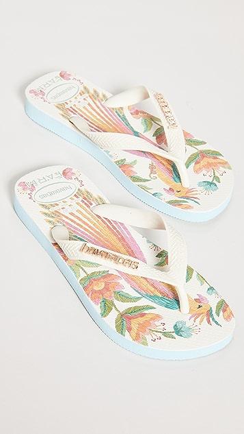 Havaianas x Farm Rio Flip Flops