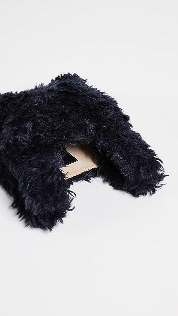 Hayward Furry Mohair Mini Shopper