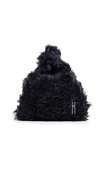 Hayward Миниатюрная сумка-шоппер из пушистого мохера