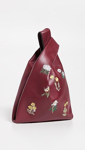 Hayward Миниатюрная объемная сумка-шоппер с короткими ручками Floral Bouquet