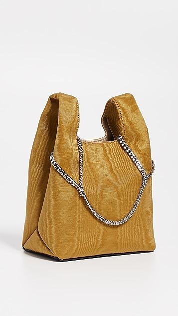 Hayward Миниатюрная объемная сумка для покупок с короткими ручками на цепочке