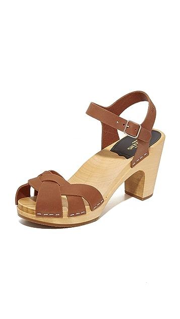 Swedish Hasbeens Kringlan Sandals