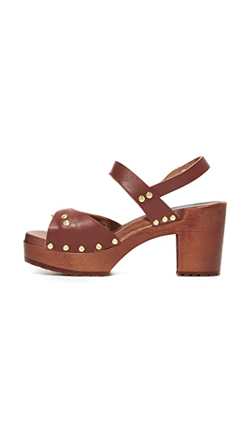 Swedish Hasbeens Lisa Platform Sandals