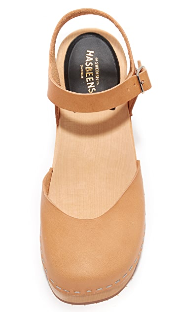 Swedish Hasbeens Krillan Platform Sandals