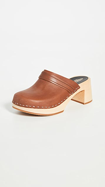 Swedish Hasbeens Dagny 木底鞋