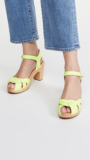 Swedish Hasbeens Kringlan 木底鞋