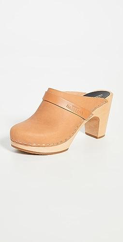 Swedish Hasbeens - Slip In 经典木底鞋
