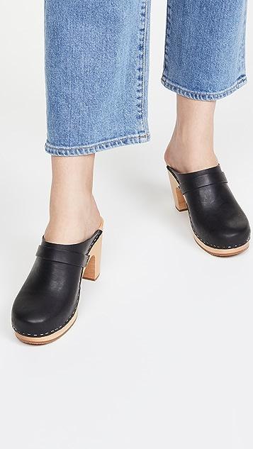Swedish Hasbeens Slip In 经典木底鞋
