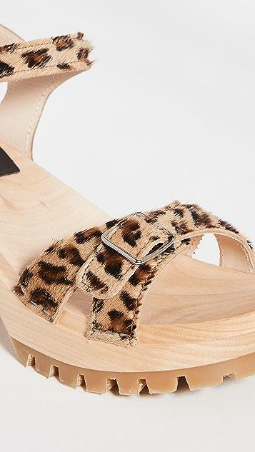 Swedish Hasbeens Swedish 凉鞋