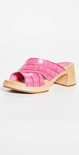 Swedish Hasbeens - Anette High Clogs