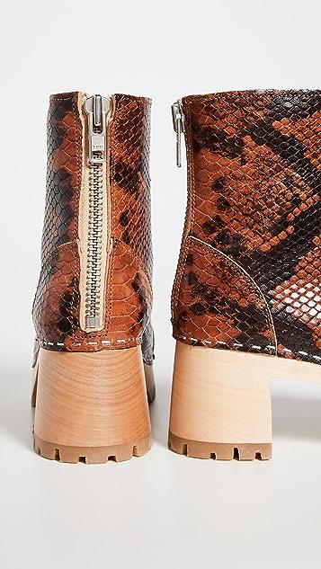 Swedish Hasbeens Stitchy Boots