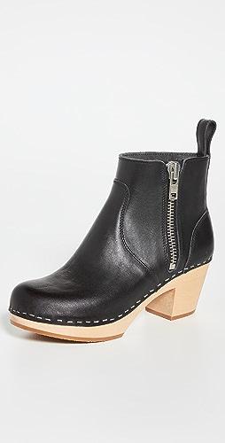Swedish Hasbeens - Zip It Emy Boots