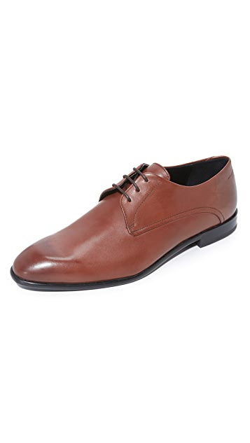 HUGO Burnished Calf Lace Up Derbies