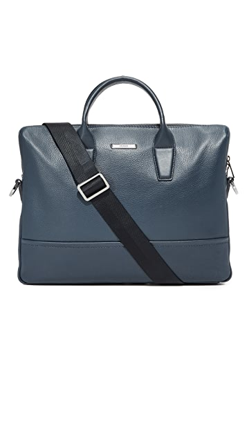 HUGO Leather Briefcase