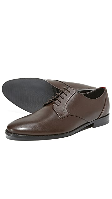 HUGO Pathos Plain Toe Derbys