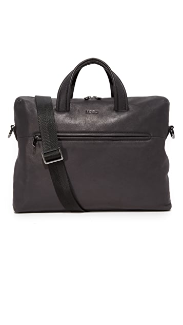 HUGO Highway Leather Briefcase