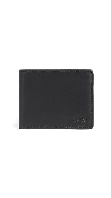 HUGO Subway Leather Wallet