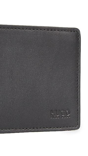 HUGO Hugo Boss Subway Leather Wallet