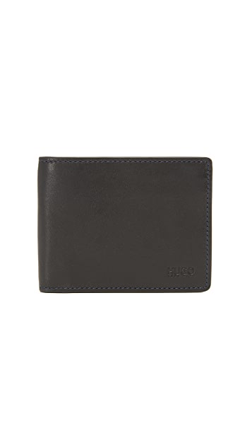 HUGO Subway Leather Wallet