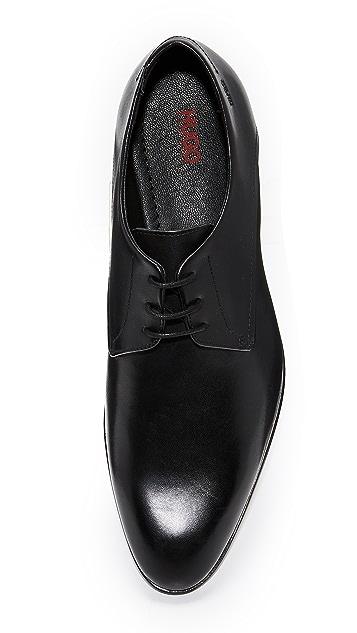 HUGO Hugo Boss Dresios Plain Toe Lace Up Oxfords