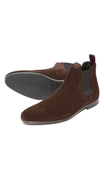 HUGO Pariss Suede Chelsea Boots