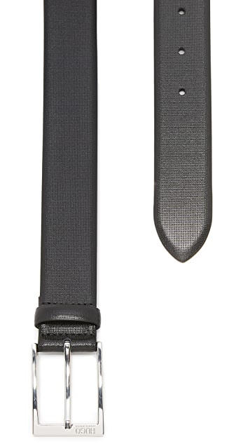 HUGO Gorizy Embossed Dress Belt