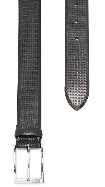 HUGO Hugo Boss Gorizy Embossed Dress Belt