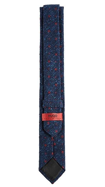 HUGO Small Floral Tie