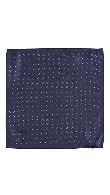 HUGO Dots Pocket Square