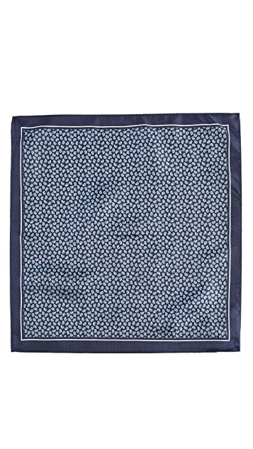 HUGO Hugo Boss Small Paisley Pocket Square