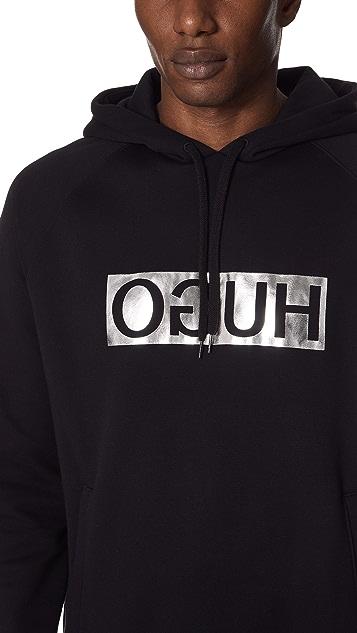 HUGO Logo Hoodie