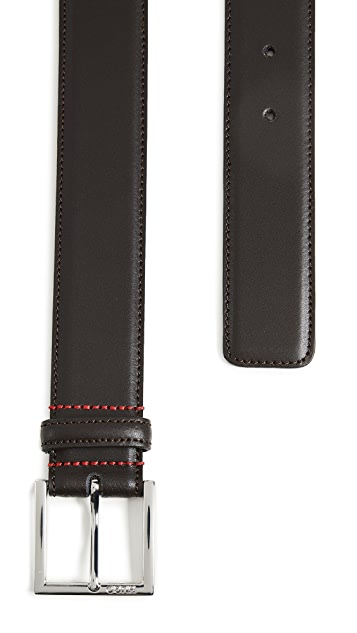 HUGO Hugo Boss Golloty Smooth Leather Belt
