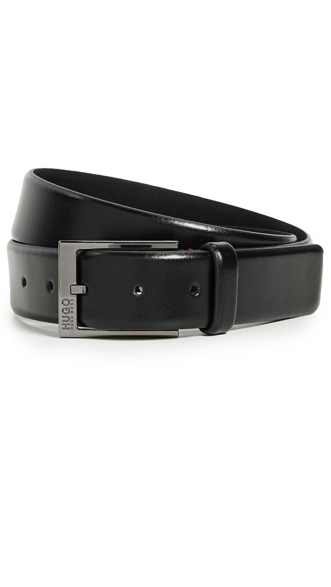 Garney Smooth Leather Belt