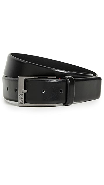 HUGO Hugo Boss Garney Smooth Leather Belt
