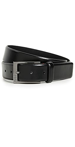 HUGO Hugo Boss - Garney Smooth Leather Belt
