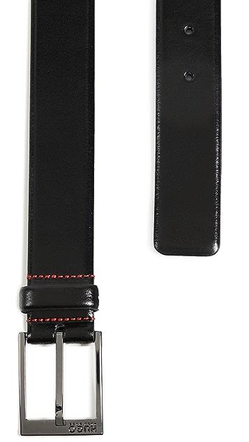 HUGO Hugo Boss Garney Smooth Leather Belt