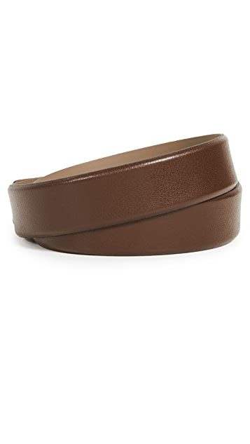 HUGO Hugo Boss Gellot Belt in Grainy Embossed Leather