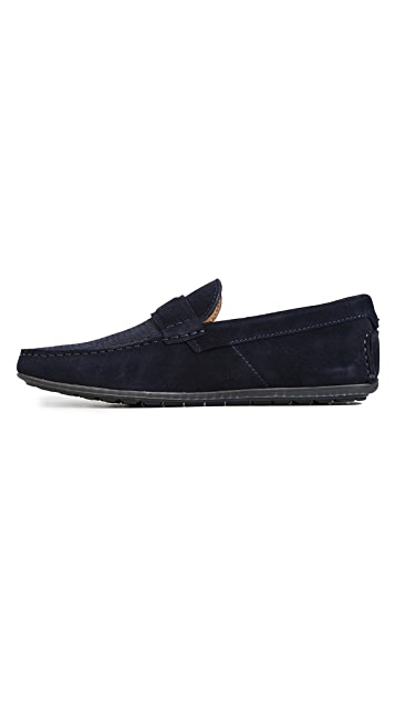 HUGO Suede Moccasin Casual Shoes