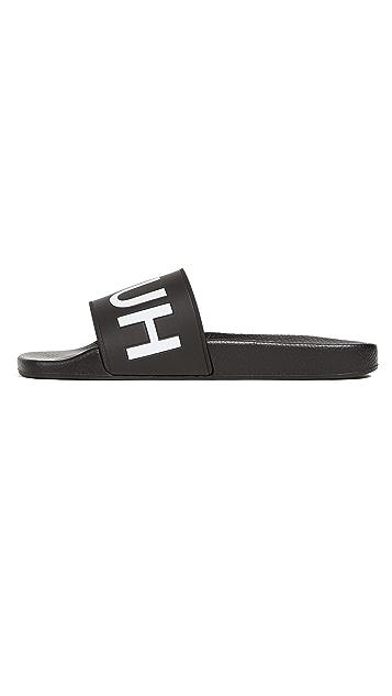 HUGO Time Out Slide Sandals