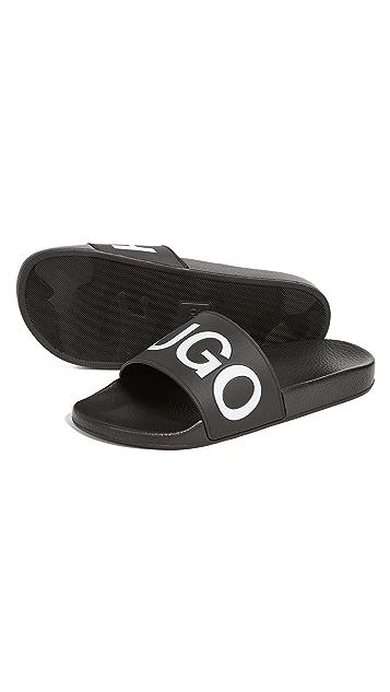 HUGO Hugo Boss Time Out Slide Sandals