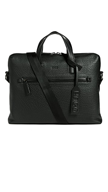 HUGO Victorian Leather Briefcase