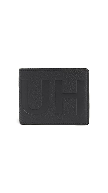 HUGO Victorian Logo Leather Wallet