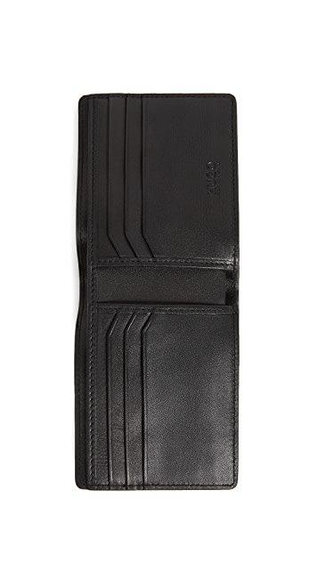 HUGO Mercury Leather Wallet